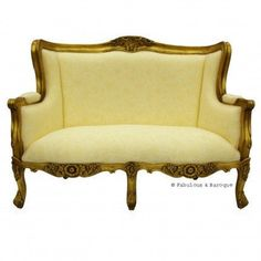#Fabulous and Baroque     #love                     #Fabulous #Baroque #Camille #French #Love #Seat #Gold #Leaf                   Fabulous & Baroque ? Camille French Love Seat - Gold Leaf                                               http://www.seapai.com/product.aspx?PID=1113486
