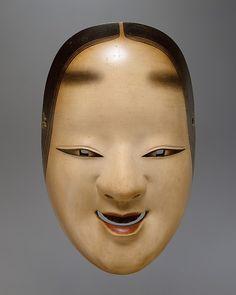 Noh mask of a young woman. Ko-omote Mask for a Noh Drama Period: Edo period Date: century Medium: Painted cypress wood Theatre No, Noh Theatre, Japanese Noh Mask, Culture Art, Art Asiatique, Art Premier, Art Japonais, Edo Period, Beautiful Mask