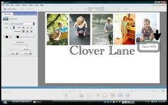 How to create a blog header with Picasa - seems easier than the 2 step method using picnik and photoscape