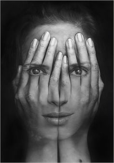 "Tigran Tsitoghdzyan - ""Millenium"" Hyperrealistic double exposure paintings"