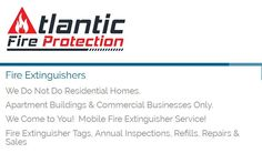 At Atlantic Fire Protection, we offer everything you require for fire extinguishers. We provide commercial fire extinguisher refills, hydrostatic testing, annual inspections, tagging and more! We cover the whole state of New Jersey.