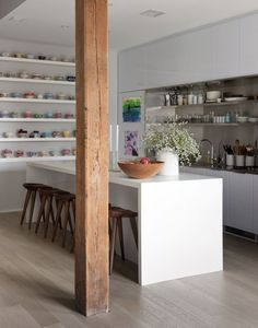 Are you ready to increase your kitchen's IQ?Whether your kitchen is modern or vintage, tiny or expansive, the same ingredients are a winning combinat