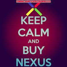 Soon #VerizonWireless users.... #VZWnexus6 #verizon #nexus6 #Android #Android5 #AndroidLollipop #Phablet #mynextphone #vzw #takemymoney  Photo cred: @derekmross
