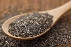 Why It's Time to Start Loving Chia — and How to Add It to Your Diet! | Chia seeds blow up in your stomach so you don't eat as much- throw a few in whatever your cooking. Plus, they're good for soaking up excess alcohol after a night of drinking = no hangover!