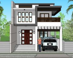 Indian Very Small House Designs . Indian Very Small House Designs . Very Small Double Storied House Kerala Home Design and Best Small House Designs, Small House Interior Design, Duplex House Design, House Design Photos, House Front Design, Free House Plans, Small House Plans, Independent House, Model House Plan
