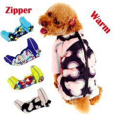 New Puppy Dog Clothing For Pets Luxury Zipper Jackets Small Big XXL Animal Pet Winter Warm Down Yorkshire Dachshund Cat Products #>=#>=#>=#>=#> Click on the pin to check out discount price, color, size, shipping, etc. Save and like it!