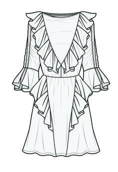 #bykym #drawing #dress