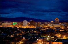 Albuquerque. Can't say it's at the top but can't say it's at the bottom of my list of places to go.