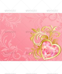 Realistic Graphic DOWNLOAD (.ai, .psd) :: http://jquery.re/pinterest-itmid-1000122394i.html ...  ...  background, brilliant, celebration, diamond, floral, gem, greeting, heart, holiday, jewel, leaf, love, pink, valentine, vector  ... Realistic Photo Graphic Print Obejct Business Web Elements Illustration Design Templates ... DOWNLOAD :: http://jquery.re/pinterest-itmid-1000122394i.html