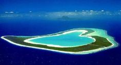 Exclusive Wedding Ceremony on Tupai, the heart-shaped island