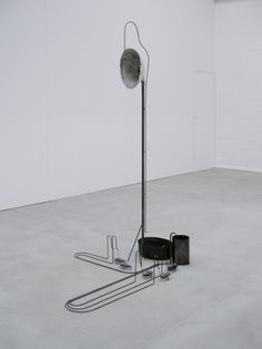 Staged Android Iron and various materials / 207 x 100 x 143 cm  Noordbrabants Museum, 's-Hertogenbosch