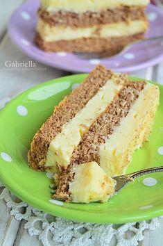 Cake Recipes, Sandwiches, Sweets, Snacks, Dios, Apple, Kitchens, Recipes, Vanilla Cream