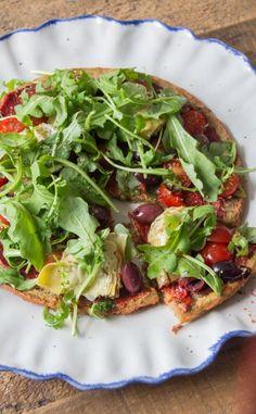 Quinoa Pizza Crust | Deliciously Ella