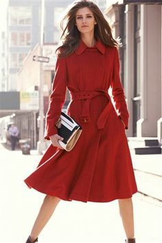Want. Fit and Flare coat from Next