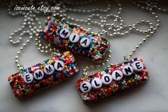 Sprinkles Resin jewelry