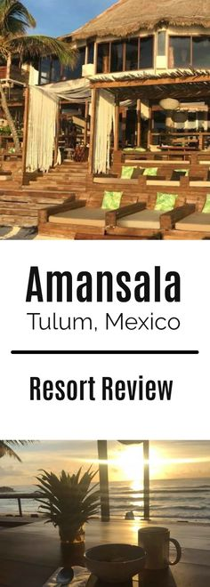 Review of Amansala eco-chic resort in Tulum, Mexico. Home of bikini bootcamp and many yoga retreats.