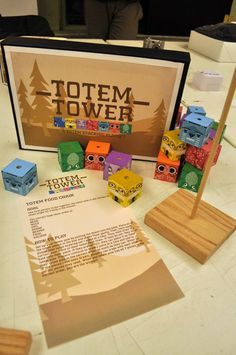 Totem Tower by Stephanie Swanson, via Behance