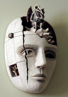mask by Michael Zvontsov at UnusualDolls on Etsy
