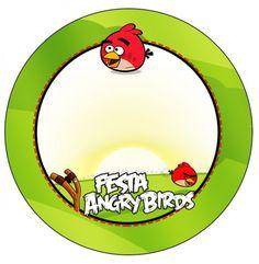 Tubetes, Toppers e Latinhas Angry Birds