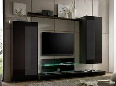 Lago Modern Wall Unit By LC Mobili Italy