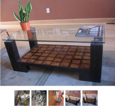 How To: Make A Coffee Table From Reclaimed Wood — Kisha's February Jumpstart…