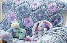 So beautiful and so different, this blanket in a kind and delicate color palettes is the perfect companion for your baby and his or her plush toys. This Harlequin Blanket by Bernat Design Studio, made of alternating squares in hushed tones, is an easy crochet pattern with a rich and interesting texture and a super-sweet …