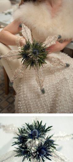 Winter wedding ideas site http://www.weddingomania.com/67-beautiful-winter-wedding-bouquets/
