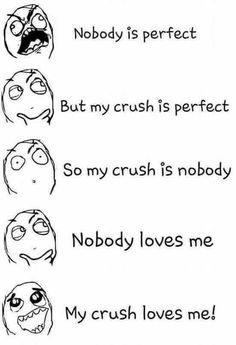 crush memes funny * meme on crush ; cute memes for crush ; crush memes when you see your ; Funny Crush Memes, Crush Quotes For Him, Crush Humor, Funny Puns, Memes Humor, Funny Relatable Memes, Top Memes, Hilarious Memes, Boyfriend Memes