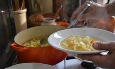 Rachel Roddy's pasta and potato soup recipe   Kitchen Sink Tales   Life and style   The Guardian