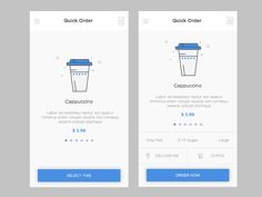 Coffee Order by Aatur Harsh