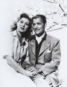 Greer Garson With Ronald Colman {Random Harvest... love this movie!}