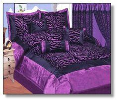 Purple Zebra Print Bedding   Purple Zebra Print Bedding, A Wonderful Touch to Your Bedroom Decor ...