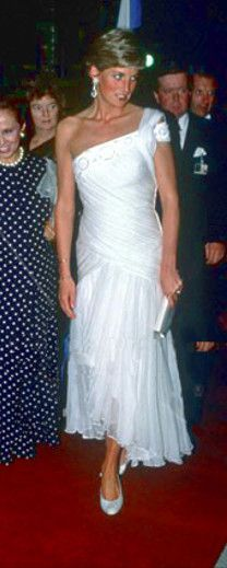 HRH The Princess Of Wales. I Love This Dress!
