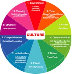 Organization and culture: Organizational Behavior + National and organizational culture
