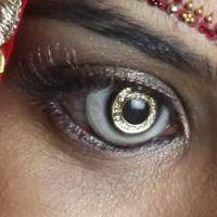 Diamond Contact Lenses