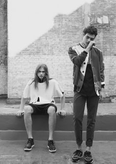Emil Andersson y Jorge Prado ©Carlos Montilla. TENMAG Magazine fashion editorial March 2014