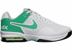 AwesomeNice Nike Women's Air Max Cage Tennis Shoe 554874 033