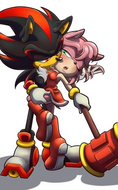 shadow the hedgehog yandere Shadow The Hedgehog, Sonic The Hedgehog, Yandere, Shadow And Amy, Sonic 3, Amy Rose, Stuff And Thangs, Draw Something, Bowser