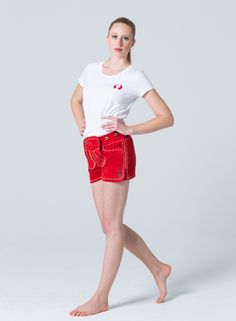 Devilskins Lederhose Red - Super Soft Wild Buck Leather #rote_Lederhose #Lederhose #Devilskins #moderne_lederhose #Damen_Lederhose