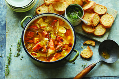 Recipe: Roasted Fall Vegetable Soup — Recipes from The Kitchn