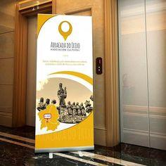 Diseño de roll-up para la asociación cultural Arracada do Irixo