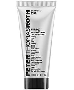 Shop Peter Thomas Roth's FIRMx™ Peeling Gel at Sephora. This peeling gel rolls, lifts, and sweeps away impurities when massaged onto skin. Peter Thomas Roth, Minimum Makeup, Best Exfoliators, Skin Care Clinic, How To Exfoliate Skin, Best Face Products, Beauty Products, Shopping, Beauty