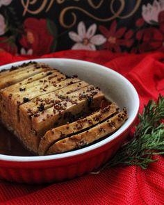 Tofu-jambon   Une maman végane Easter Recipes, Egg Recipes, Whole Food Recipes, Healthy Recipes, Good Food, Yummy Food, Vegan Christmas, Vegan Life, Vegan Vegetarian