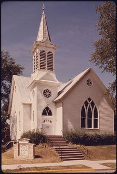 The Church of Christ, One of Many Churches Each of Which Are Built in Different Architectural Styles in New Ulm, Minnesota... by The U.S. National Archives, via Flickr