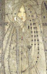 Margaret Macdonald Mackintosh The Seven Princesses (detail).