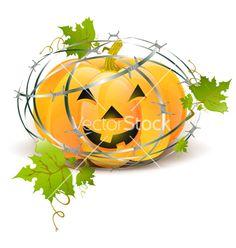 Halloween pumpkin vector 619667 - by SRNR on VectorStock®