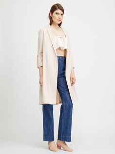 Ali Golden NOTCH JACKET - BLUSH