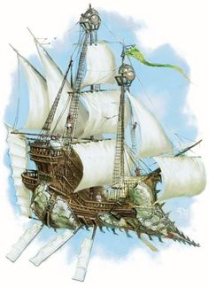I have these friends who own a flying pirate ship. Being in the sky like that all the time would be an awesome adventure!