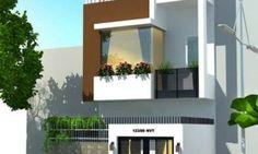7 mẫu mặt tiền nhà phố 2 tầng hiện đại trong năm 2016