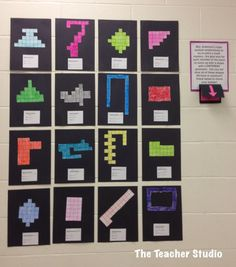 Fourth Grade Studio: Learning, Thinking, Creating: Perimeter and Area Problems--Cooperation Time!